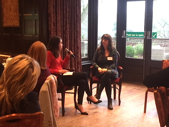 LoveLove production coordinator Shannon interviewing JoAnne