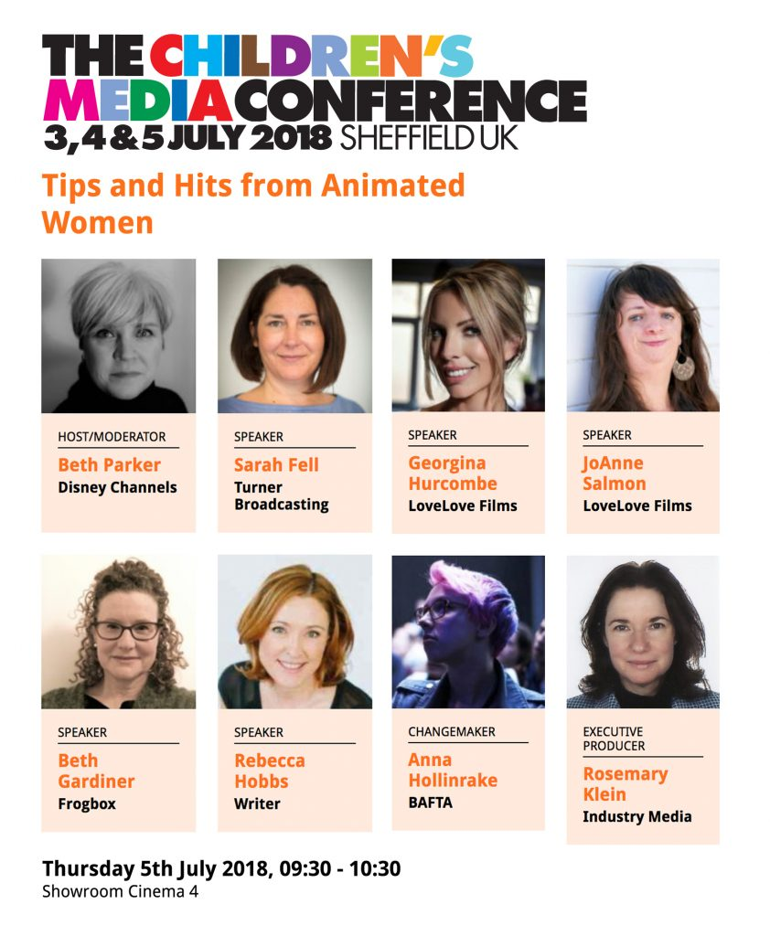 CMC Speakers - Women in Animation